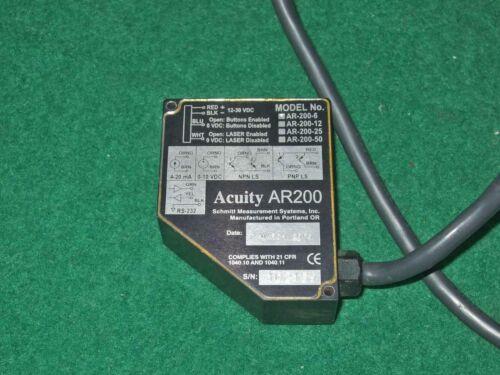 Acuity Ar200-6 Laser Measurement Sensor