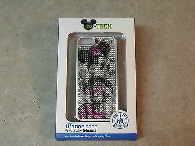 D-Tech Disney Minnie Mouse iPhone Case For Use With iPhone 5