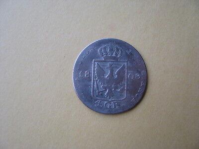 monnaies allemande 4 groschen-Friedrich Wilhelm III 1808 argent