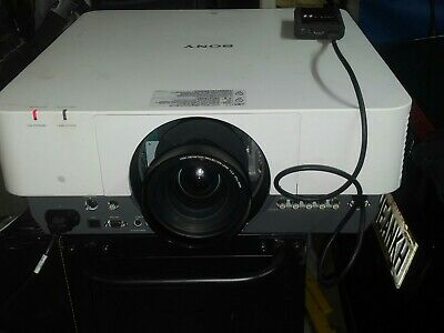 Sony VPL-FH500 LCD Data Projector HD w/ 1:2 short throw lens