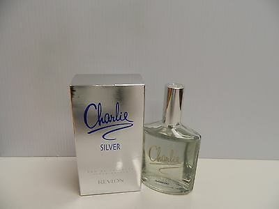 Charlie Silver By Revlon Perfume 3 4 Oz Edt New In Box