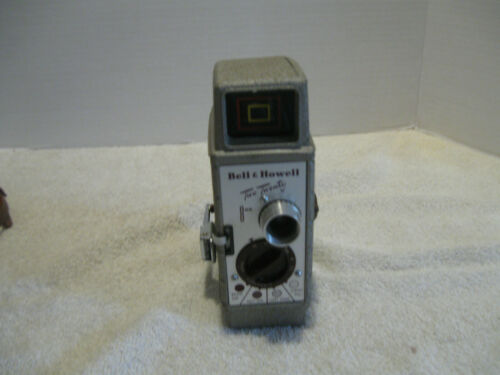 Vintage Bell & Howell Two Twenty 8mm MOVIE CAMERA with case