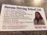 Experienced Driving School (780) 993 1029