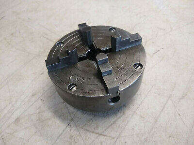 Atlas Craftsman Power Companion Independent 4 Jaw 4 Metal Lathe Chuck 34 - 16