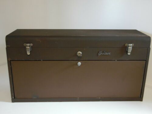 Vintage yorktown 8 drawer Machinist Tool Box with key