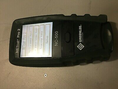 Greenlee Tempo Nc-500 Netcat Pro-2 Nc-500 Cable Tester
