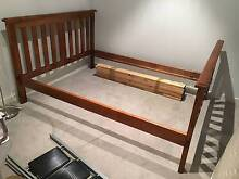 Fantastic Furniture Bounty Queen Size Bed + Used Mattress Carnegie Glen Eira Area Preview