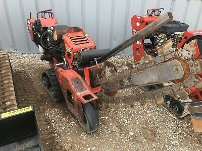 Ditch Witch Rt24 30 Walk Behind Trencher