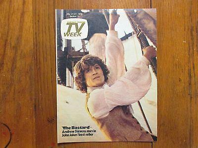 May 21  1978 Chicago Tribune Tv  Week Andrew Stevens Stella  Stevens The Bastard