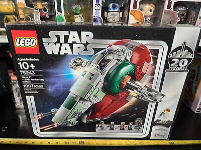 LEGO Star Wars Slave I - 20th Anniversary Edition Set (75243) NEW and unopened