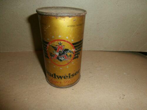 Vintage Steel Metal Beer Can Gold Budweiser 1936 Flat Top