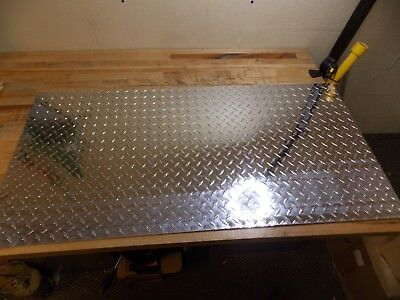 Professional Aluminum Diamond Tread Plate 0.08 X 24 X 48 Alloy 3003