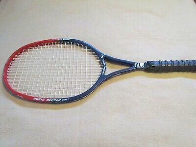 3c35267b68 Vintage Puma Boris Becker Super PCS MidSize Germany Tennis Racquet 4 5/8