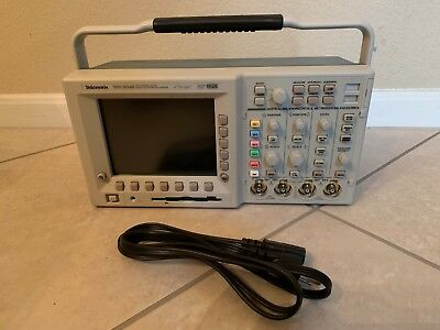 Tektronix Tds3054b 4 Channel Digital Phosphor Oscilloscope 500mhz 5gss