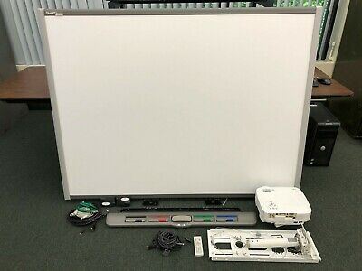 Smart Board Sb680 W Nec Vt700 Projector Mount