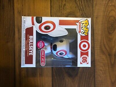 Funko POP Ad Icons Bullseye #05 Red Collar Target Flocked Exclusive