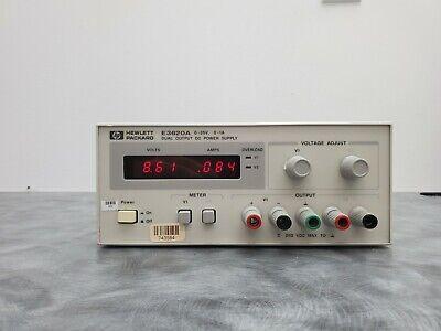 Agilent E3620a Dual Output Dc Power Supply 0-25v 0-1a