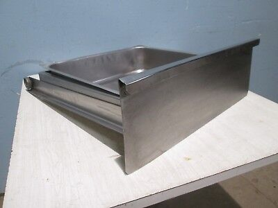 Commercial Heavy Duty 100 Stainless Steel Table Drawer Wslides Insert Pan