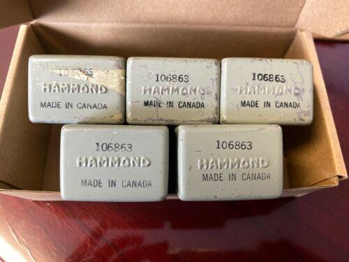 Hammond 106863 Transformers Lot of 5