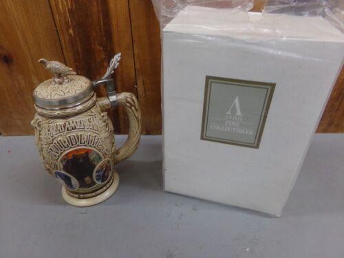 Avon Tribute to American Wildlife Beer Stein in Original Box ~ Excellent Cond
