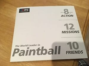 Paintball Tickets- For Group of 10 People