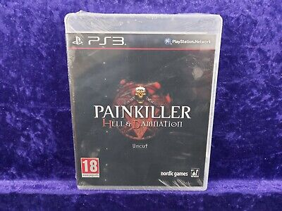 ps3 PAINKILLER Hell & Damnation Uncut NEW & SEALED Region Free PAL...