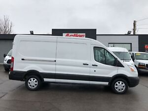 2017 Ford Transit With Shelving and partition