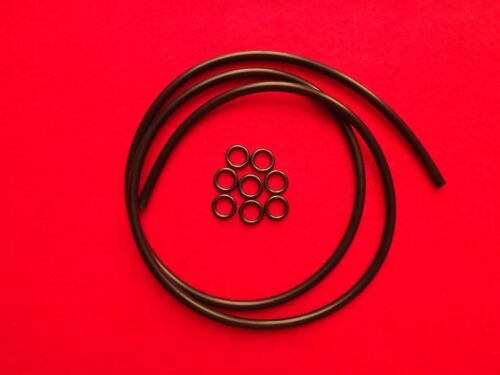 Conductive Rubber Tubing 6mm OD /DIY/ estim/ Electrastim/ Tens/ Electrosex