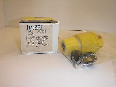 Daniel Woodhead 26w06 Watertite Plug 20a 250v Nib