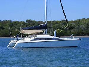 Crowther C-10 GRP Catamaran. Tin Can Bay Gympie Area Preview