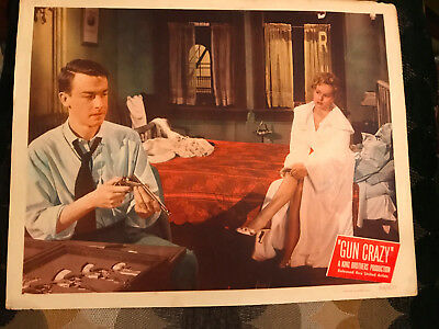 Gun Crazy 1950 United Artists crime lobby card Peggy Cummins John Dall