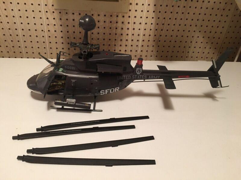 BBI  Elite Force 1:18 Scale U.S. Army Kiowa Helicopter Awesome