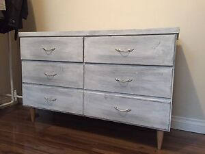 Rustic Dresser with 6 drawers - Moving Sale
