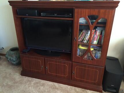 TV unit with cupboards Penrith Penrith Area Preview