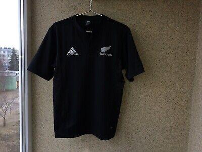 0290e380b New Zealand All Blacks Home Rugby Union Shirt 2005 2007 Adidas S Camiseta