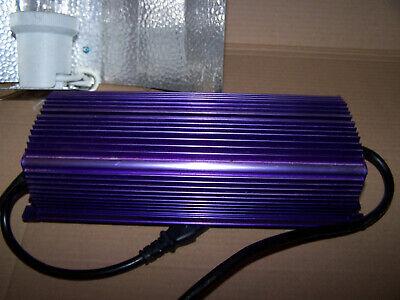 Lumatek Switchable 300, 400, 600w Super Lumens Plant Grow Ballast + Lamp LK6240