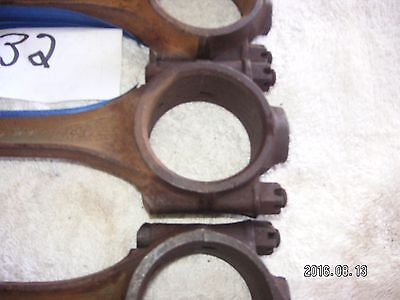 3 Used Massey Harris 81 Oliver 70 Connecting Rods F 400d-500  My0732g3
