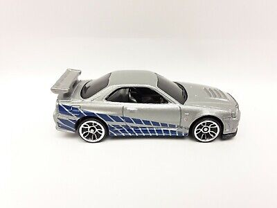 Hot Wheels 2020 Nissan Skyline GT-R 2 Fast 2 Furious 5-Pack Exclusive New Loose