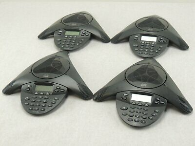 Lot Of Four- Cisco Cp-7936 Unified Conference Station Telephone Ip Phone -tested