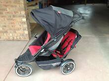 Phil and teds double pram Moorabool Area Preview