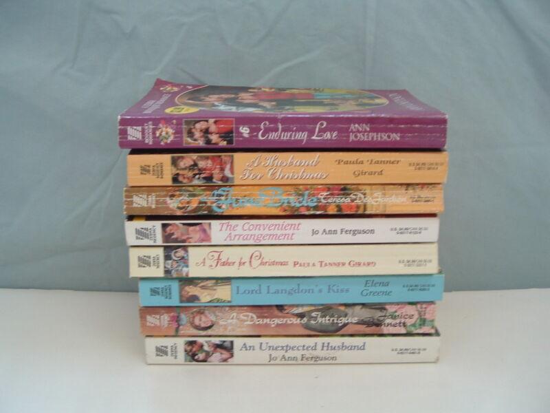 Lot of 8 Zebra romance paperback book novels Free shipping