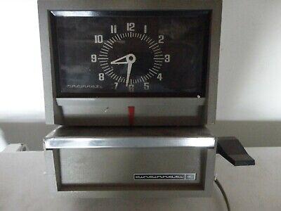 Vintage Cincinnati Time Punch Clock As-is