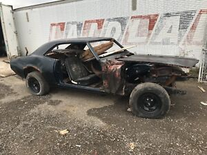 1968 Chevy camaro PROJECT