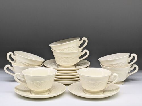 Wedgwood of Etruria Patrician Creamware Cup and Saucer