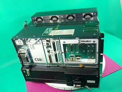 Staubli Cs8c Ts60 Robot Controller With Rps Arps2 Rsi Cpt Rack