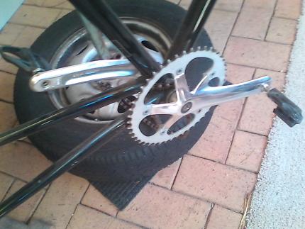 clipon pedals shimano n crank set