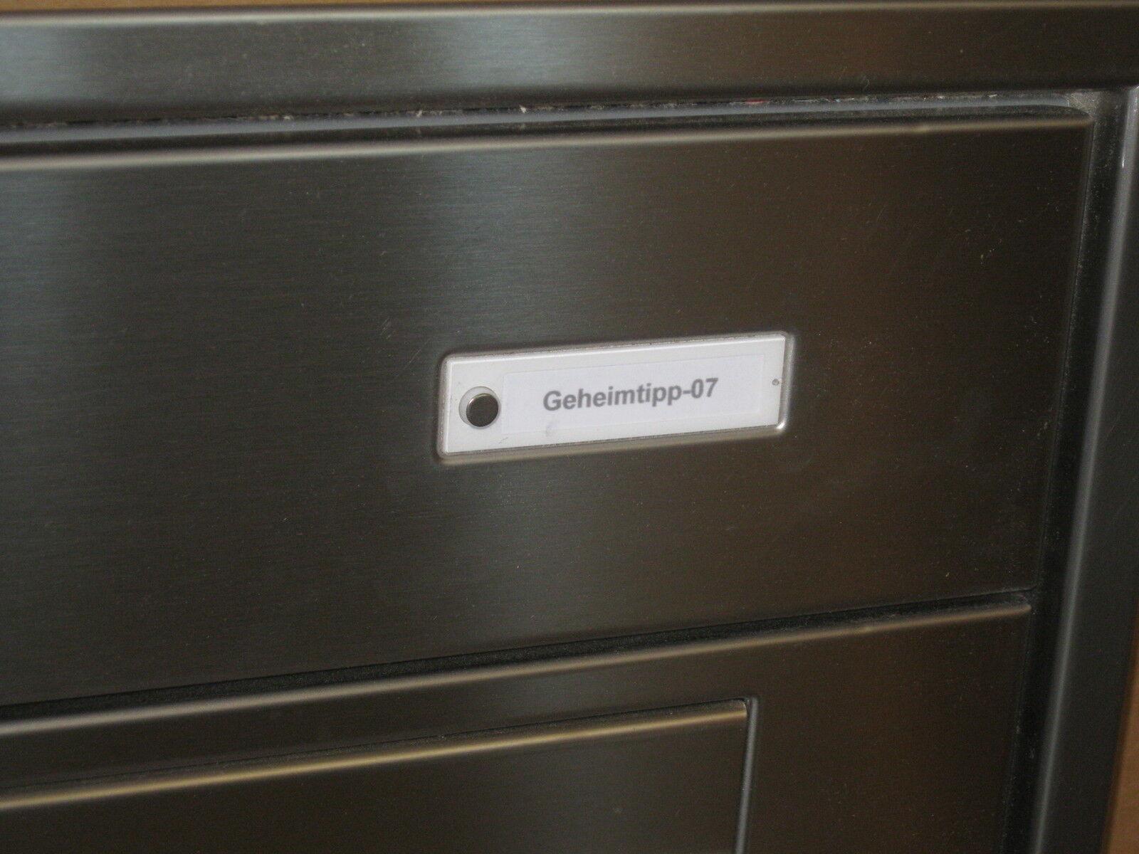 renz unterputz biefkastenanlage in edelstahl wandeinbau klingel briefkasten eur 780 00. Black Bedroom Furniture Sets. Home Design Ideas