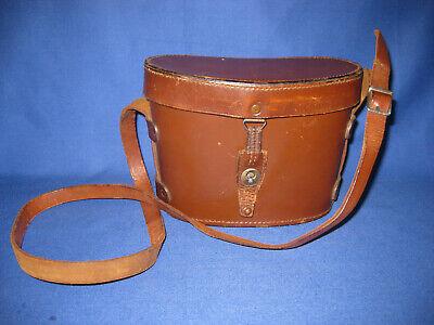 Binocular Cases & Accessories Cameras & Photo Lens Filters Lid Rare 1944 Ww2 Era Swiss Military Army Leather Binocular Case