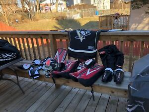 Kids hockey goalie stuff