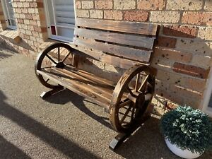 New Outdoor Timber Bench Seat